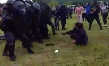 Jujuy: los videos de la brutal represión de la policía de Gerardo Morales   Violencia policial