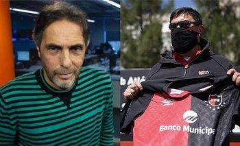 """Gustavo López amenazó al """"Mono"""" Burgos tras su llegada a Argentina   Radio la red"""