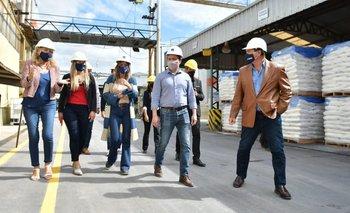 Galmarini y Watson evalúan proyectos para potenciar las red hidráulica en Varela | Provincia