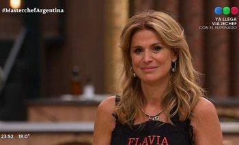 Flavia Palmiero es la cuarta eliminada de MasterChef Celebrity   Masterchef celebrity
