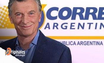 Una maniobra de los Macri frenó la quiebra del Correo | Correo argentino