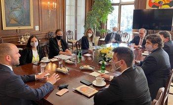 Estados Unidos: cumbre Guzmán-Banco Mundial en busca de inversiones | Gira por ee.uu.