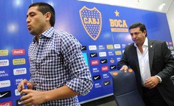 Reapareció Angelici: destrozó a Riquelme y bancó a Tevez | Boca juniors