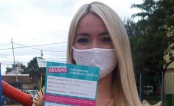 Echaron a la militante de Avellaneda que se había vacunado  | Vacunas vip