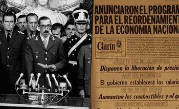 24 de marzo: las medidas económicas de la dictadura que hundieron a la Argentina | 24 de marzo