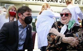 Kicillof y Hebe de Bonafini recordaron a las víctimas del terrorismo de Estado | Día de la memoria