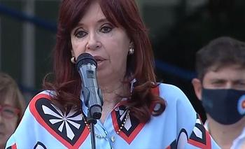 """Para ustedes solos, nunca"": El inesperado gesto de Cristina Kirchner | Cristina kirchner"