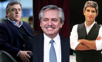 Alberto Fernández compartió la pelea de Negri con un periodista | Alberto fernández