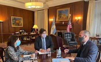 Guzmán inicia su gira por Europa con la mira en el Club de París y el FMI | Deuda con el fmi