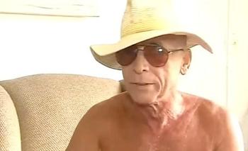 Gerardo Romano apareció semidesnudo en un móvil de Intrusos | Televisión