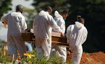 Coronavirus: Brasil colapsa y supera el récord de 100 mil casos diarios | Pandemia