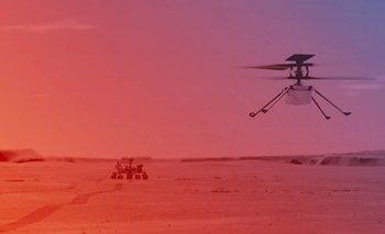 La NASA intentará concretar el primer vuelo de Ingenuity en Marte | Ciencia