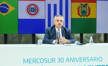 Fuerte cruce entre Alberto y Lacalle Pou por el Mercosur | Alberto presidente