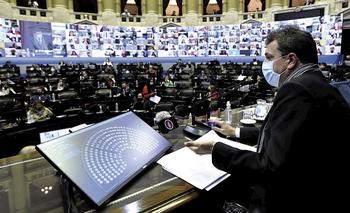 Massa acordó con toda la oposición renovar el protocolo de sesiones mixtas | Congreso