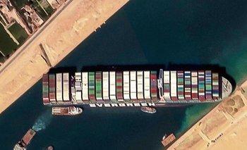 Canal de Suez: llegan remolcadores para descargar el Ever Given | Egipto
