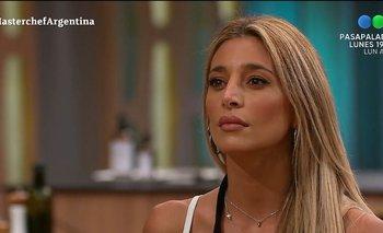 Sol Pérez tuvo que colgar su delantal en Telefe | Masterchef celebrity