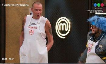 MasterChef Celebrity: El Loco Montenegro adoptó a Alex Caniggia | Masterchef celebrity
