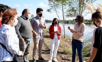 Tigre: Galmarini recorrió una obra que beneficiará a más de 100 mil personas | Aysa
