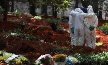 Nuevo récord en Brasil: 3.780 muertes por coronavirus en un día | Coronavirus