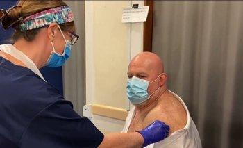 Christian Martin fue vacunado de casualidad en Inglaterra | Christian martin