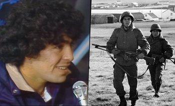 Malvinas: el día que Maradona donó una fortuna para la guerra | Guerra de malvinas
