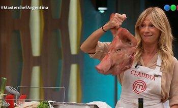 ¿Avanza el romance entre Claudia Fontán y el Loco Montenegro? | Masterchef celebrity