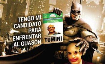 El bizarro afiche de Tumini en su campaña para jefe de Gobierno | Elecciones 2015