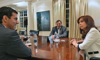Cristina se reunió con Urtubey tras la victoria en Salta   Elecciones 2015