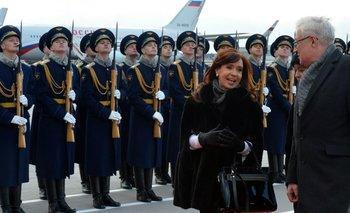 Cristina inicia su agenda en Rusia con un discurso para empresarios   Julio de vido