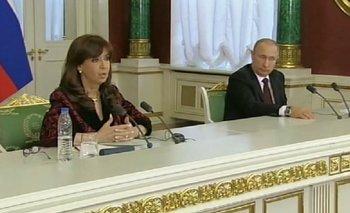 Cristina se reunió con Putin y le agradeció apoyo por Malvinas   Cristina kirchner