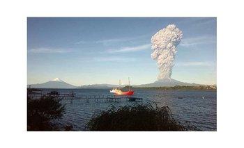 El impactante video de la erupción del volcán Calbuco | Chile