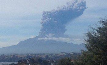 El volcán Calbuco entró por tercera vez en erupción | Volcán calbuco