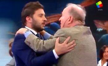 ¿Por qué se abrazaron Brancatelli y Sabsay en Intratables?   Diego brancatelli
