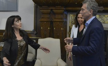 Macri recibió a Susana Trimarco en la Casa Rosada | Susana trimarco