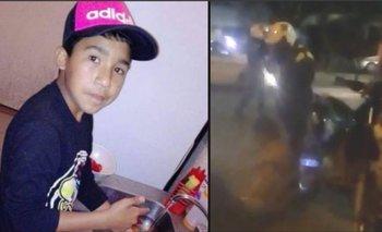VIDEO INÉDITO: la policía amenaza al niño que acompañaba a Facundo Ferreira al momento del asesinato   Muerte de facundo ferreira