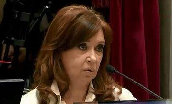 La broma de Cristina Kirchner en medio de un descuido en el Senado | Cristina kirchner