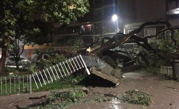 Inundaciones, granizo y destrozos, las consecuencias del temporal en la Ciudad y el Conurbano | Temporal