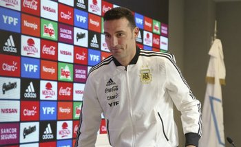 Lionel Scaloni mostró cómo quedó tras el choque en España | Selección argentina
