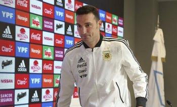 Lionel Scaloni mostró cómo quedó tras el choque en España   Selección argentina