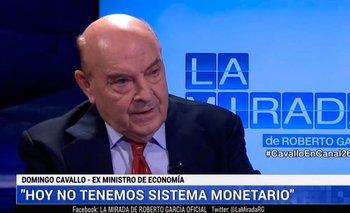 """Domingo Cavallo: """"Esto termina en hiperinflación""""   Inflación"""