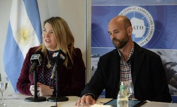 Tierra del Fuego: el cruce de Rosana Bertone a Guillermo Dietrich por el puerto de Ushuaia | Mauricio macri