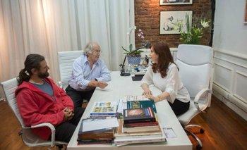 Cristina Kirchner se reunió con Juan Grabois y Pérez Esquivel | Cristina kirchner