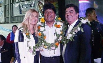 Magario y Espinoza recibieron a Evo Morales como visitante ilustre de La Matanza | Evo morales