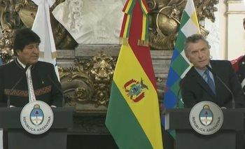 El insólito error de Macri al presentar a Evo Morales | Mauricio macri