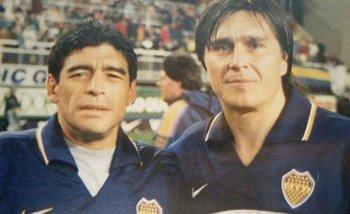 El emotivo recuerdo de Maradona por la muerte de Julio César Toresani | Boca juniors