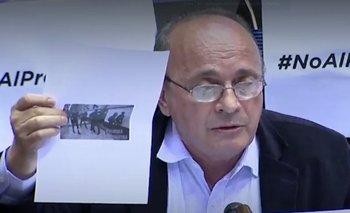 Moreau explotó contra un mensaje de Brandoni por usar la imagen de Alfonsín | Leopoldo moreau