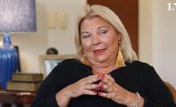 La foto con la que Elisa Carrió respondió a las críticas por sus dichos sobre De la Sota   Elisa carrió
