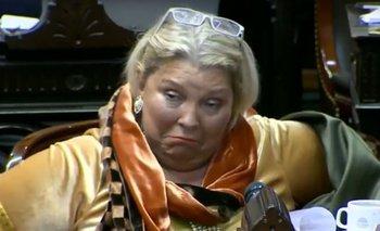 "Carrió justificó sus dichos sobre De La Sota: ""Es una gracia de Dios que ustedes me acusen""   Elisa carrió"