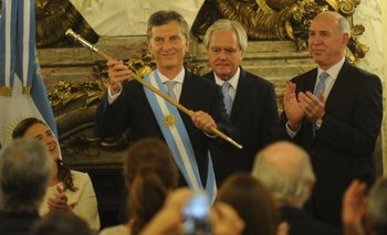 El orfebre oficial reveló que Macri temía que el bastón tuviera una macumba  | El traspaso