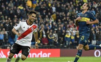 Con un metegol particular, River recuerda la victoria sobre Boca en la Libertadores | Boca juniors